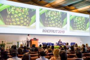 Un momento del convegno Tropical fruit-congress, a Macfrut