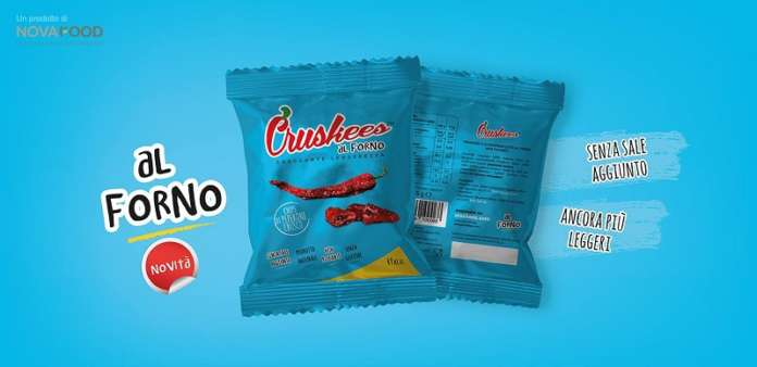 Cruskees si presenta con due snack innovativi a base di Peperone Crusco della Lucania