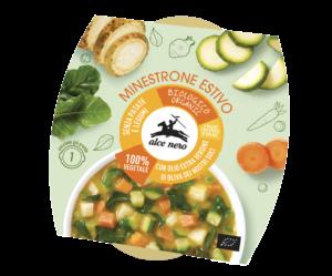 Il minestrone estivo, senza l'utilizzo di patate e legumi