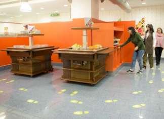 La mensa dell'Università di Milano-Bicocca organizzata con un percorso ricco di suggerimenti su quali alimenti prediligere