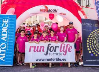Red Moon ha partecipato come main sponsor alla terza edizione di Run for life Südtirol, una corsa non competitiva