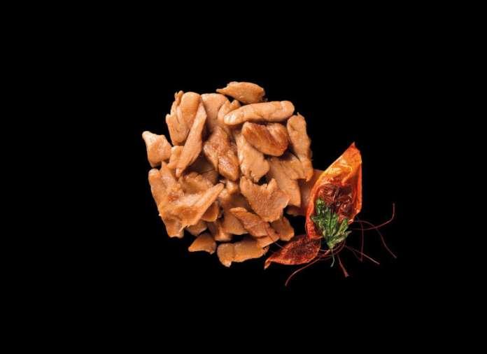 Gli straccetti di pollo della linea Food Evolution sono prodotti completamente vegan e senza glutine