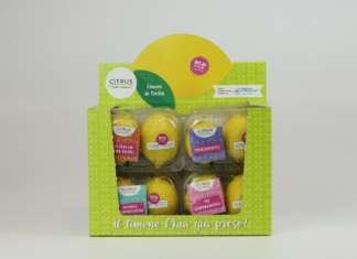 Gli espositori di limoni di Citrus-L'Orto Italiano sono disponibili da giugno nella grande distribuzione organizzata