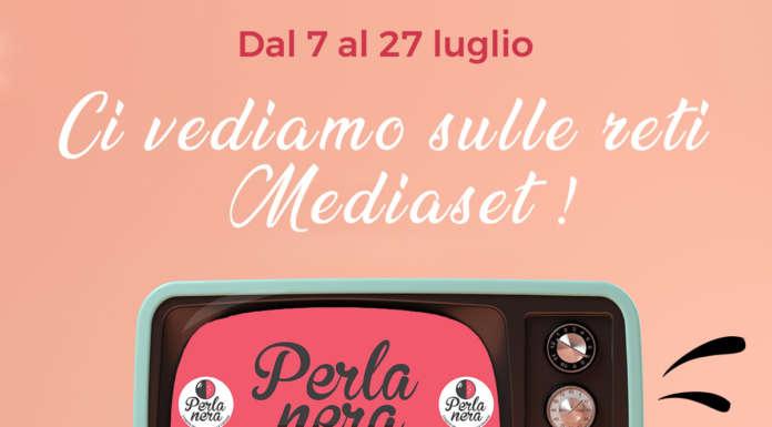 Gli spot di Perla Nera sulle reti Mediaset raggiungeranno 130 milioni di contatti