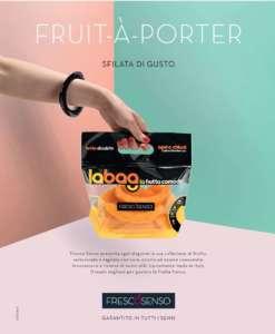L'innovativa Bag di Fresco Senso per la frutta à-porter