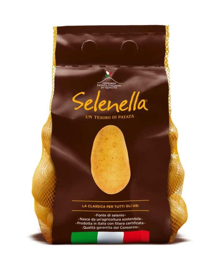 Il Consorzio Patata Italiana di Qualità garantisce l'etichetta chiara e trasparente di Selenella