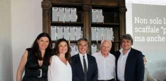 La famiglia Vitaletti proprietaria di Italpepe. Per i 50 anni di attività ha lanciato il progetto Tasting Rainbow , una rivoluzione della comunicazione a scaffale delle spezie