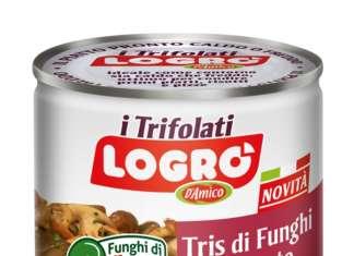 Logrò, brand di D'Amico, detiene la leadership di mercato per i funghi trifolati in latta
