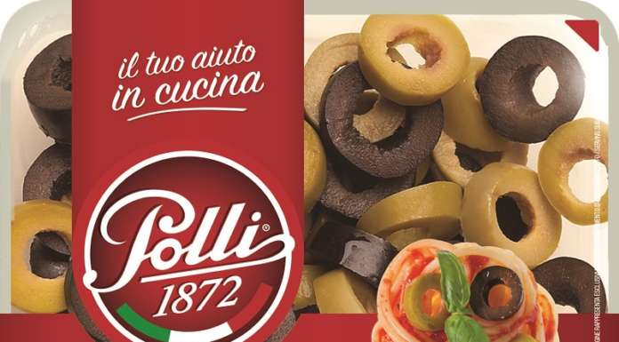 Le Olive a rondelle verdi e nere Polli: denocciolate e già affettate, sono un ottimo topping per insalate e bruschette