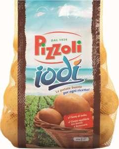 La patata Iodì è tonda e a pasta gialla e coltivata a pieno campo