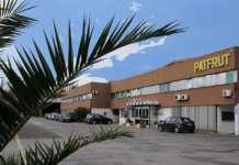 La sede di Patfrut a Monestirolo (Fe): la società cooperativa ha presentato un bilancio 2018 da record