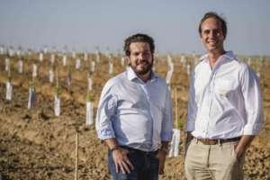 David Carvalho e Filipe Rosa, co-fondatori del gruppo portoghese-brasiliano Veracruz