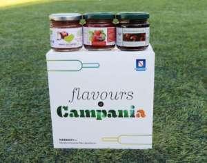 La Food box preparata dalle cooperative sociali e data agli atleti vincitori