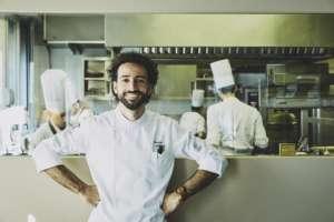 Franco Aliberti, chef del ristorante Tre Cristi di Milano (credits: Stefan Giftthaler)