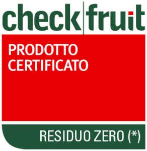 La patate Residuo zero Romagnoli sono garantite dall'ente certificatore Check Fruit