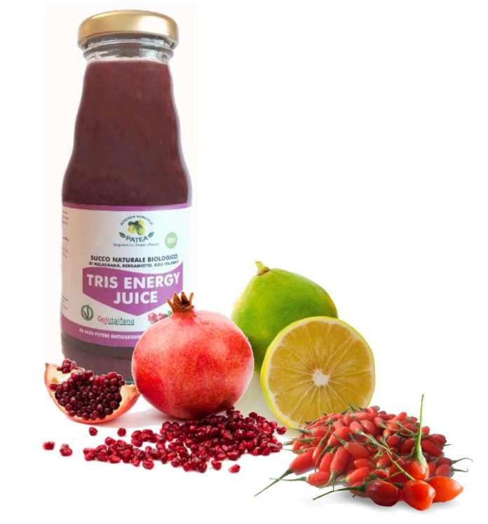 Tris Energy Juice, un succo bio e made in Italy, punta al mercato degli healthy drink