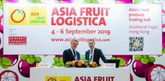 Inizia oggi Asia Fruit Logistica 2019: la fiera si tiene a Hong Kong e durerà dal 4 al 6 settembre
