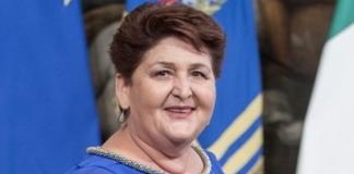 La ministra delle politiche agricole, Teresa Bellanova