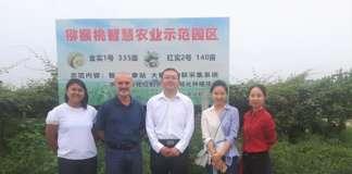 La missione di Origine Group in Sichuan, in vista di una collaborazione sul kiwi