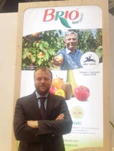 Anton Carra, export manager di Brio, al Biofruit Congress d Fruit Attraction