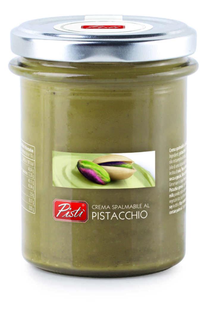 La Crema di Pistacchio Premium Pistì nasce a Bronte, in Sicilia, ai piedi dell'Etna