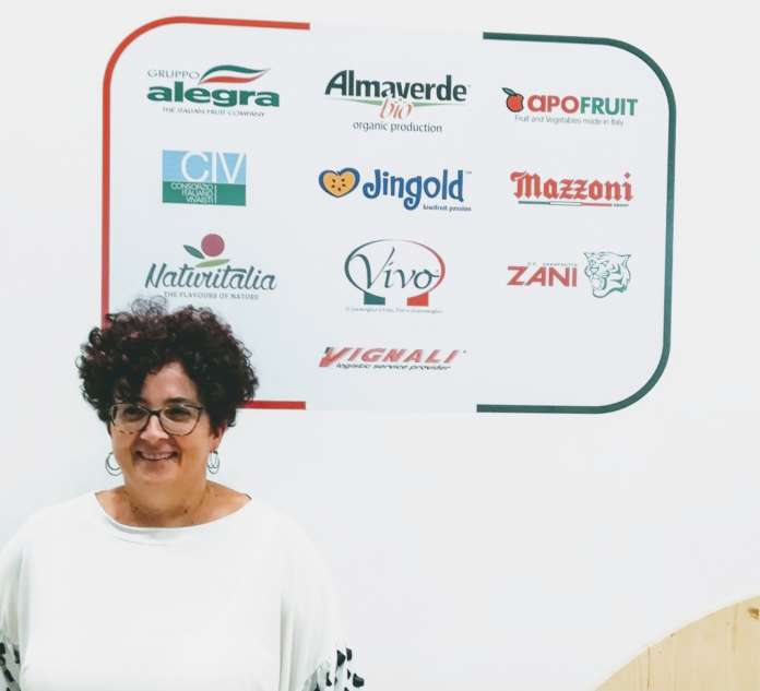 Il direttore di CSO Italy Elisa Macchi, presente a Madrid, a Fruit Attraction
