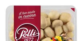 I funghetti. Una delle referenze di Polli della nuova gamma di verdure pronte in vaschetta Il tuo aiuto in cucina