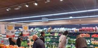 Febbraio frena la spinta positiva di gennaio agli acquisti di ortofrutta (foto d'archivio)