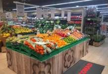reparto ortofrutta Conad ex Auchan