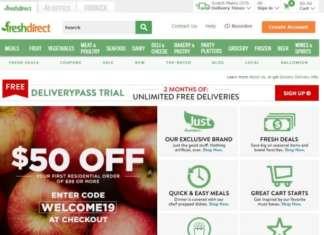 FreshDirect è un retailer che vende online nel Nord-Est degli Stati Uniti, specializzato nella consegna di alimenti freschi