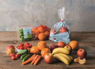 Lidl offre circa 140 articoli di frutta e verdura. La linea Kids punta sui mini formati e packaging innovativi e colorati