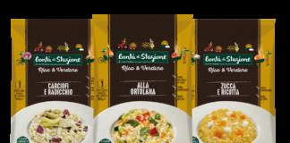 La linea Riso & Verdure del brand Bontà di Stagione di Euroverde: sarà protagonista allo Spazio Conad Collatina