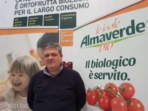 Ernesto Fornari, direttore di Canova, società del gruppo Apofruit, esclusivista per l'ortofrutta fresca e di IV e V gamma a marchio Almaverde Bio