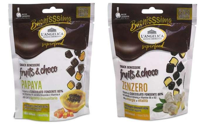 L'Istituto Erboristico L'Angelica propone due healthy snack per un'alimentazione funzionale