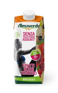 Succhi Almaverde senza zuccheri aggiunti e senza cannuccia