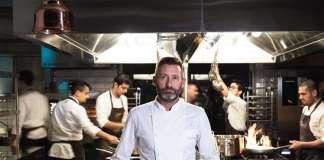 Fabrizio Albini, executive chef del ristorante Bianca sul Lago, a Oggiono