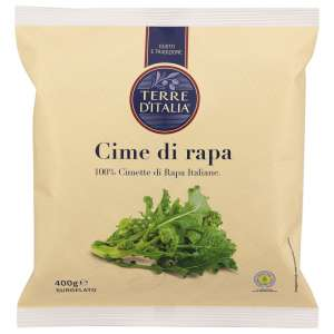 Le cime di rapa surgelate Terre d'Italia