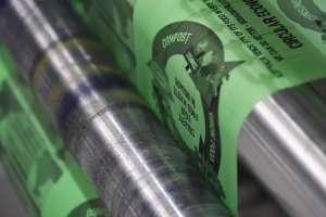 La confezione compostabile prodotta da Bio Bag è stata utilizzata, tra l'altro, per sostituire i tradizionali film per riviste e giornali