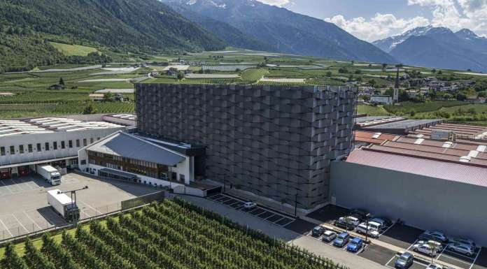 Il nuovo stabilimento bio della Cooperativa Juval di Val Venosta Vip