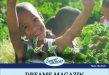 La copertina di Dreams: la rivista sarà disponibile presso lo stand dell'azienda (padiglione 27, stand C21), in occasione di Fruit Logistica, la fiera internazionale di Berlino