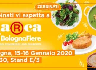 Zerbinati sarà a Marca (stand n. E/3, padiglione 30), la Fiera di Bologna dedicata alla private label, per il quinto anno consecutivo