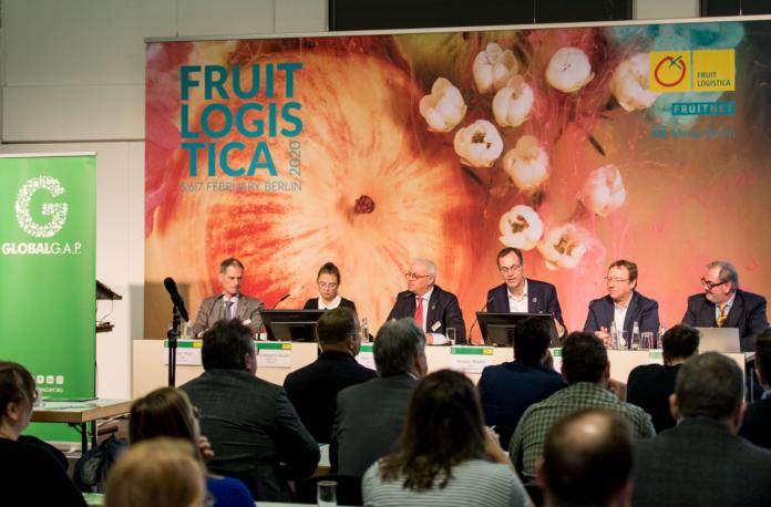 La conferenza stampa di GLOBALG.A.P a Fruit Logistica, a Berlino