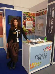 Linda Carobbi corporate director fresh fruit vertical market Savino Del Bene