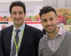 Il presidente di Civ Pier Filippo Tagliani con il Business Development manager Marco Bertolazzi