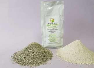 La Zeolite cubana commercializzata da Bioagrotech, un corroborante potenziatore delle difese naturali delle piante. Si è dimostrata efficace contro agenti infestanti.