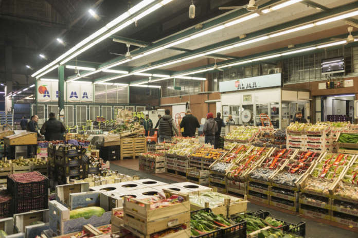 Il mercato ortofrutticolo di Milano