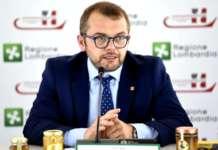 L'assessore di Regione Lombardia Fabio Rolfi