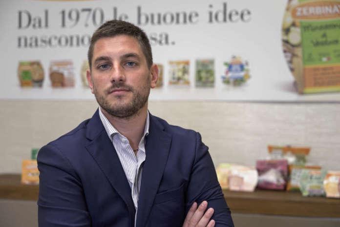 Simone Zerbinati, attuale direttore generale di Zerbinati