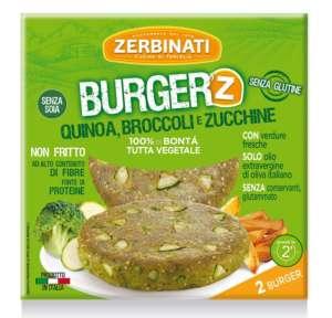 I burger vegetali di Zerbinati