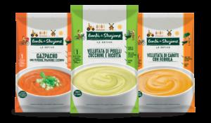 Le nuove zuppe estive Bontà di Stagione di Euroverde